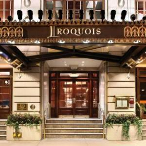 Times Square New York Hotels - The Iroquois New York