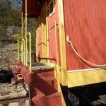 Livingston Junction Cabooses and Cabin