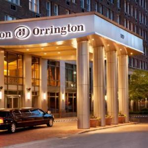 Hotels near Next Theatre Evanston - Hilton Orrington / Evanston