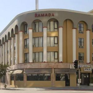 Wilshire Ebell Theatre Hotels - Ramada Inn Wilshire Center