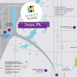 Hotels near Idlewild Baptist Church - Hyatt Place Tampa Busch Gardens