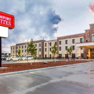 Hotels near Dana J. Dykhouse Stadium - Comfort Suites Brookings