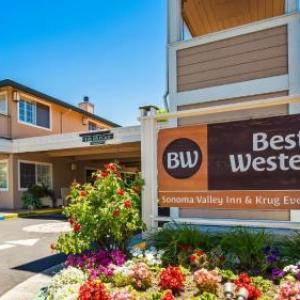 Hotels near BR Cohn Winery - Best Western Sonoma Valley Inn & Krug Event Center