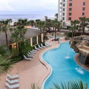 Hotels near Queen's Harbour Yacht and Country Club - Hampton Inn Oceanfront Jacksonville Beach
