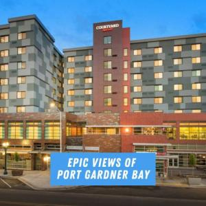 Everett Civic Auditorium Hotels - Courtyard by Marriott Seattle Everett Downtown