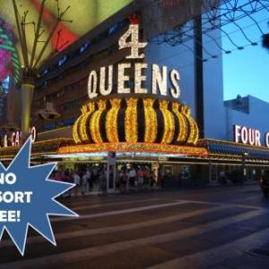 Hotels near Clark County Government Center Amphitheater - Four Queens Hotel And Casino