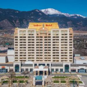 Hotels near The Thirsty Parrot Bar and Grill Colorado Springs - The Antlers A Wyndham Hotel