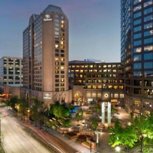 Hotels near Bank of America Stadium - Hilton Charlotte Center City