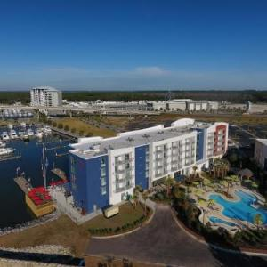 Hotels near Flora-Bama - SpringHill Suites Orange Beach at The Wharf