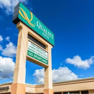 Spartan Stadium Hotels - Quality Inn University