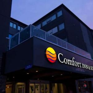 Edmonton Convention Centre Hotels - Comfort Inn & Suites Downtown Edmonton