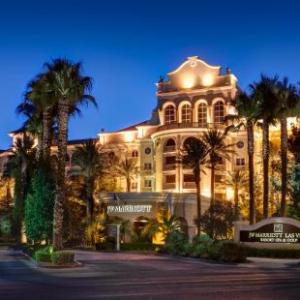 Suncoast Showroom Hotels - JW Marriott Las Vegas Resort & Spa
