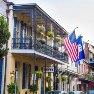 Blue Nile New Orleans Hotels - Andrew Jackson Hotel French Quarter