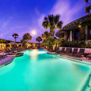 Hotels near Seawall Galveston - Hotel Galvez And Spa A Wyndham Grand Hotel