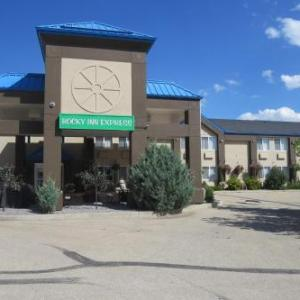 Book Now Rocky Inn Express (Rocky Mountain House, Canada). Rooms Available for all budgets. Rocky Inn Express offers pet-friendly accommodation in Rocky Mountain House.Every room at this hotel is air conditioned and is equipped with a flat-screen TV. Each room is equ