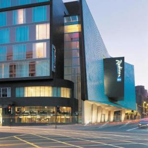 Glasgow City Halls Hotels - Radisson Blu Hotel Glasgow