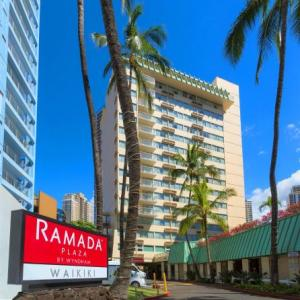 Hawaii Convention Center Hotels - Ramada Plaza By Wyndham Waikiki