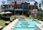 Benoni South Africa Hotels - Africa Paradise - OR Tambo Airport Boutique Hotel