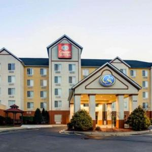 Hotels near Club Tempo - Comfort Suites Airport Charlotte