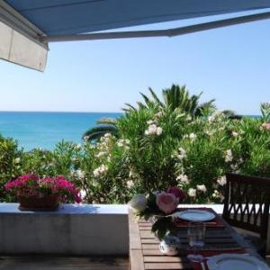 Book Now Villa Lina B&B (Albisola Superiore, Italy). Rooms Available for all budgets. Located a few steps from the sandy beach and 5 km from Savona Train Station Villa Lina B&B is a self-catering apartment with sea-view patio and air conditioning.The apartm