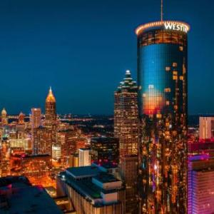 Atlanta Metropolitan Cathedral Hotels - The Westin Peachtree Plaza