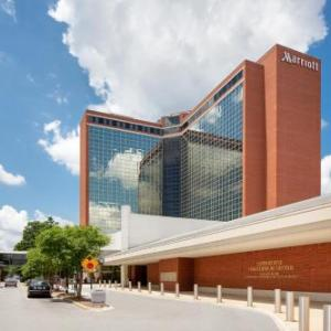 River Market Pavilions Hotels - Little Rock Marriott