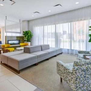 Hotels near Little Caesars Arena - Holiday Inn Express Downtown Detroit