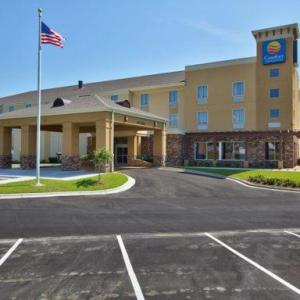 Hotels near Dothan Civic Center - Comfort Inn & Suites Dothan East