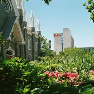Hotels near Gallivan Center - Salt Lake Plaza Hotel at Temple Square