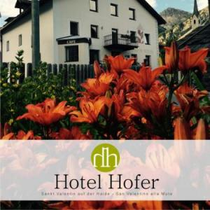 Book Now Hotel Hofer (San Valentino alla Muta, Italy). Rooms Available for all budgets. Featuring free WiFi Hotel Hofer offers pet-friendly accommodation in San Valentino alla Muta. The hotel has water sports facilities and ski storage space and guests can enjoy