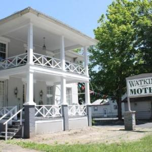 Book Now Watkins Motel (Watkins Glen, United States). Rooms Available for all budgets. Just 3 minutes' walk from Watkins Glen State Park this motel is located in Watkins Glen New York 15 minutes' walk from Seneca Lake. WiFi access is provided free of charge.Each