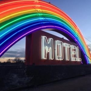 Hotels near Greeley Stampede - Rainbow Motel