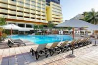 Map of the of Dominican Fiesta Hotel  Casino Area Distrito