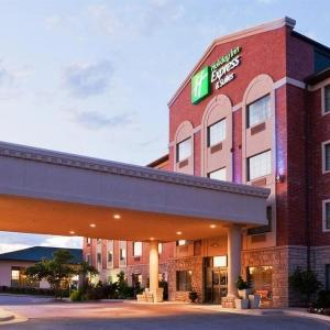 Hotels near Broken Arrow Performing Arts Center - Holiday Inn Express Hotel & Suites Tulsa South Broken Arrow Highway 51