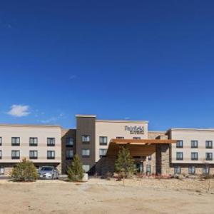 Hotels near Security Service Field - Fairfield Inn & Suites by Marriott Colorado Springs East