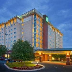 North Charleston Coliseum Hotels - Embassy Suites Hotel Airport-Convention Ctr North Charleston
