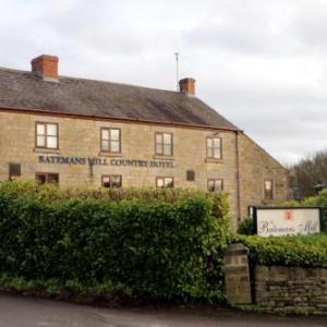 Winding Wheel Chesterfield Hotels - Batemans Mill Hotel & Restaurant