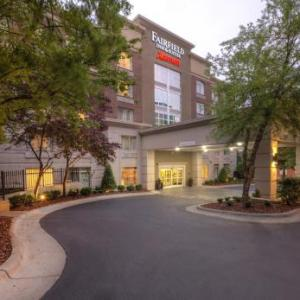 C.E. Gaines Center Hotels - Fairfield Inn & Suites Winston-salem Downtown
