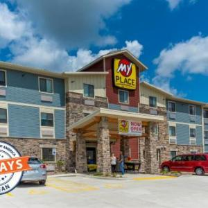 Hotels near Route 20 Sturtevant - My Place Hotel-Mount Pleasant WI