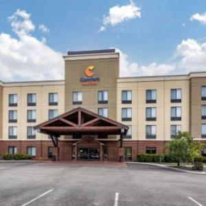 Hotels near Great Stage Park - Comfort Suites Manchester